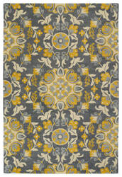 Kaleen Global Inspiration Glb102-75 Grey Area Rug
