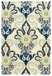 Kaleen Global Inspiration Glb11-17 Blue Area Rug