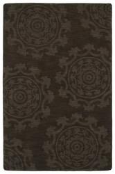 Kaleen Imprints Classic Ipc01-40 Chocolate Area Rug