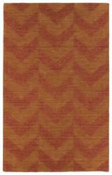 Kaleen Imprints Modern Ipm05-53 Paprika Area Rug