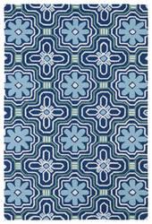 Kaleen Matira Mat02-17 Blue Area Rug