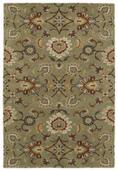 Kaleen Middleton Mid02-50 Green Area Rug