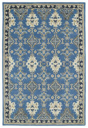 Kaleen Middleton Mid04-17 Blue Area Rug
