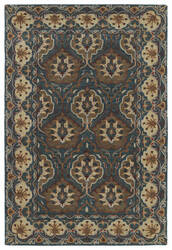 Kaleen Middleton Mid07-91 Teal Area Rug