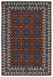 Kaleen Middleton Mid08-25 Red Area Rug