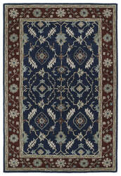 Kaleen Middleton Mid10-22 Navy Area Rug