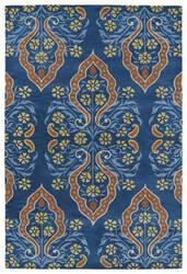 Kaleen Melange Mlg10-17 Blue Area Rug