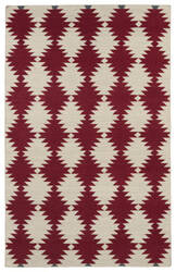 Kaleen Nomad Nom02-25 Red Area Rug