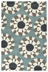 Kaleen Origami Org03-75 Grey Area Rug