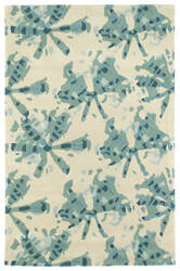 Kaleen Pastiche Pas03-78 Turquoise Area Rug