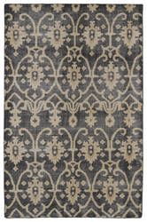 Kaleen Restoration Res01-02 Black Area Rug