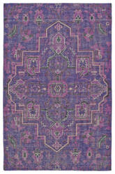 Kaleen Relic Rlc01-95 Purple Area Rug