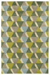Kaleen Rosaic Roa03-96 Lime Green Area Rug