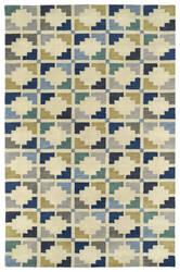 Kaleen Rosaic Roa05-17 Blue Area Rug