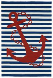Kaleen Sea Isle Sea01-22 Navy Area Rug