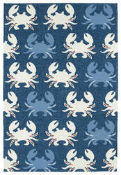 Kaleen Sea Isle Sea02-22 Navy Area Rug