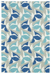Kaleen Sea Isle Sea10-17 Blue Area Rug