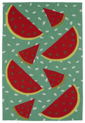 Kaleen Sea Isle Sea12-36 Watermelon Area Rug