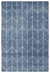 Kaleen Solitaire Sol05-10 Denim Area Rug