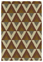 Kaleen Spaces Spa06-06 Brick Area Rug