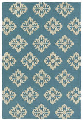 Kaleen Spaces Spa09-78 Turquoise Area Rug