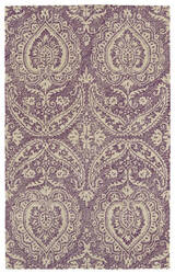 Kaleen Weathered Wtr01-95 Purple Area Rug