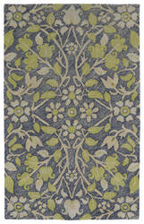 Kaleen Weathered Wtr04-22 Navy Area Rug