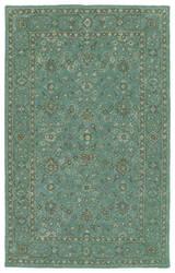 Kaleen Weathered Wtr05-78 Turquoise Area Rug