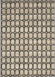 Karastan Design Concepts Simpatico Copacetic Cream Area Rug
