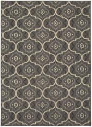 Karastan Design Concepts Simpatico Gala Silver Area Rug