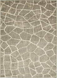 Karastan Design Concepts Simpatico Fragment Silver Area Rug