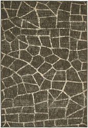 Karastan Design Concepts Simpatico Fragment Coffee Area Rug