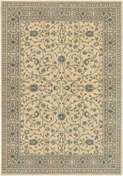Karastan English Manor Somerest Lane Ivory Blue 2120-540 Area Rug