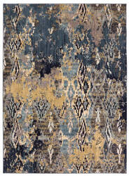 Karastan Elements Captivate Indigo Area Rug
