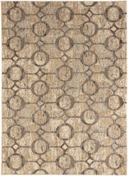 Karastan Intrigue Devise Cream Area Rug