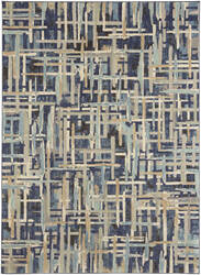 Karastan Intrigue Enchant Indigo Area Rug