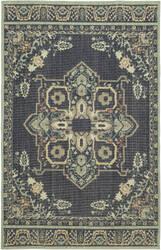 Karastan Vintage Tapis Left Bank Indigo Area Rug
