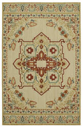 Karastan Vintage Tapis Left Bank Cream Area Rug
