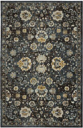 Karastan Touchstone Deveron Blue Teal Area Rug