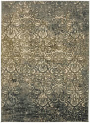 Karastan Touchstone Melrose Blue Teal Area Rug