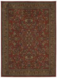 Karastan Spice Market Berdan Garnet Area Rug