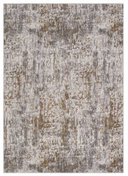 Karastan Enigma Metamorphic Brushed Gold Area Rug