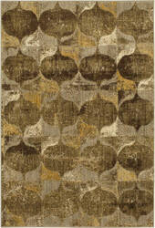Karastan Expressions Iconograph Gold Area Rug