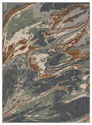 Karastan Elements Aredale Denim - Aquamarine Area Rug
