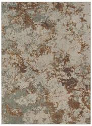 Karastan Elements Brockway Gray - Gold Area Rug