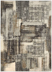Karastan Tempest Echo Natural Cotton - Willow Grey Area Rug