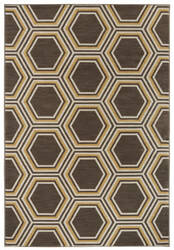 Karastan Panache Honey Queen Bungee Cord Area Rug
