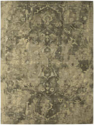 Karastan Decollage Assemblage Gray Area Rug