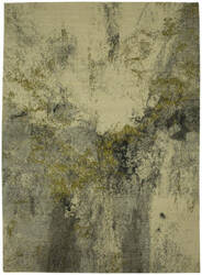 Karastan Decollage Gilded Cream Area Rug