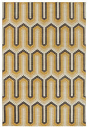 Karastan Panache Willis Tower Golden Rod Creme Brulee Area Rug